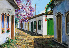 Paraty - óleo sobre tela / oil on canvas